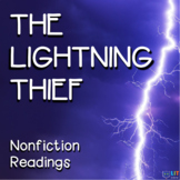 Percy Jackson Lightning Thief: 22 Nonfiction Close Reading