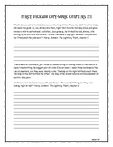 Percy Jackson: The Lightning Thief Copy-work