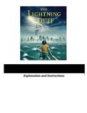 Percy Jackson and the Lightning Thief - Figurative Languag
