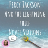 Percy Jackson: The Lightning Thief Novel Study -Learning Stations