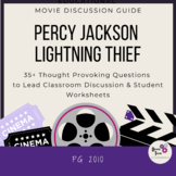 Percy Jackson- The Lightning Thief- Movie Discussion Guide