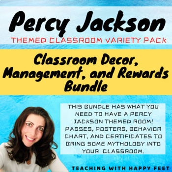 Percy Jackson Themed Classroom Bundle
