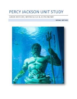 Percy Jackson Unit Study - Greek History, Mythology & Astronomy