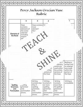 Percy Jackson Vocabulary Activity