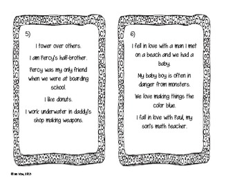 Percy Jackson Who am I? Character Analysis