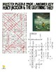 Percy Jackson and Lightning Thief Puzzle Page (Wordseach and Criss-Cross)