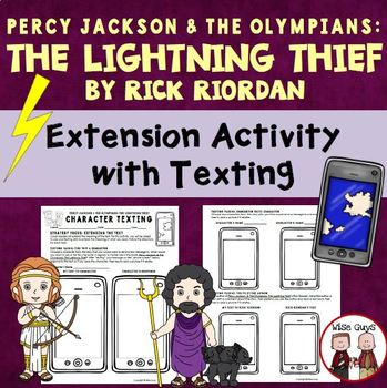 The Lightning Thief Sending Text Messages Activities