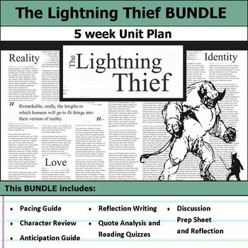 Percy Jackson and the Lightning Thief Unit Bundle