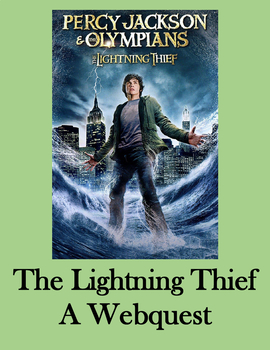 Percy Jackson and the Lightning Thief A Webquest