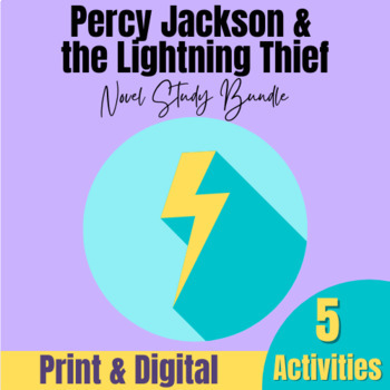 Percy Jackson and the Lightning Thief Activities Bundle