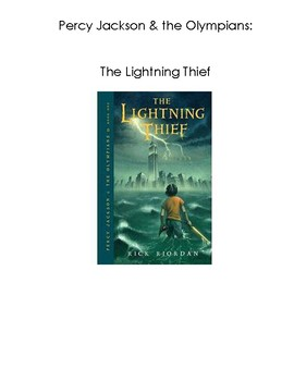 Percy Jackson and the Lightning Thief- Adapted Book