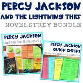 Percy Jackson and the Lightning Thief BUNDLE (Lapbook & Comprehension Questions)