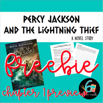 Percy Jackson and the Lightning Thief Chapter 1 Preview - FREEBIE!