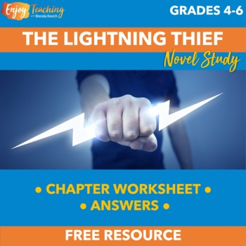 Percy Jackson The Lightning Thief Chapter 1 Worksheet