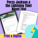 Percy Jackson and the Lightning Thief Final Test