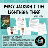 Percy Jackson and the Lightning Thief Novel Unit