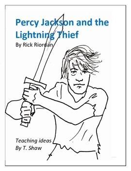 Percy Jackson and the Lightning Thief with bonus Odysseus lit unit