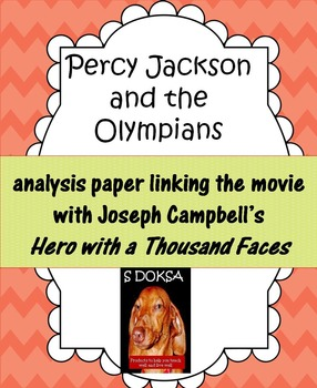 Percy Jackson and the Olympians and Joseph Campbell