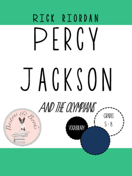 Percy Jackson and the Olympians: The Lightning Thief by Rick Riordan Vocabulary