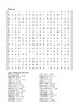 Percy Jackson and the Sea of Monsters - Word Search Chapter 6