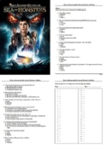 Percy Jackson and the Sea of Monsters Movie - 50 Question