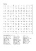 Percy Jackson and the Sea of Monsters - Word Search Chapter 1