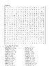 Percy Jackson and the Sea of Monsters - Word Search Chapter 13