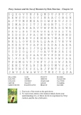 Percy Jackson and the Sea of Monsters - Word Search Chapter 14