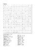 Percy Jackson and the Sea of Monsters - Word Search Chapters 2 - 3