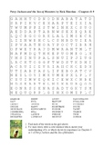 Percy Jackson and the Sea of Monsters - Word Search Chapters 8 & 9