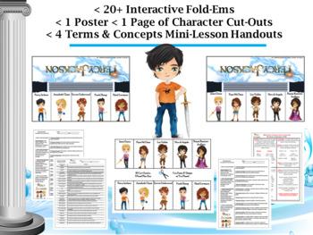 Percy Jackson by Rick Riordan Interactive Character Flip-Ems