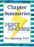 Percy Jackson: the Lightning Thief - Chapter Summaries