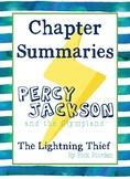Percy Jackson: the Lightning Thief - Chapter Summaries