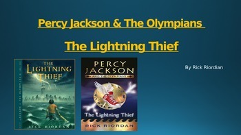 Percy Jackson & the Lightning Thief Power Point