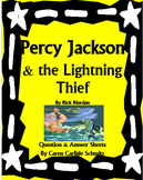 Percy Jackson & the Lightning Thief - Q&A with Vocab and D