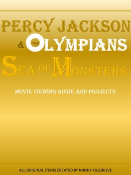 Percy Jackson & the Olympians: Sea of Monsters (Editable Movie Viewing Guide)