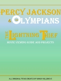 Percy Jackson & the Olympians: The Lightning Thief (Editable Movie Guide)