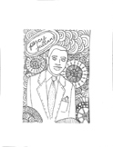 Percy Julian Coloring Page
