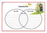 Percy the Park Keeper Themed Venn Diagram
