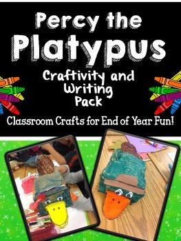 Percy the Platypus Writing Craftivity