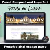 Perdu au Louvre - Digital Escape game - Passé Composé and