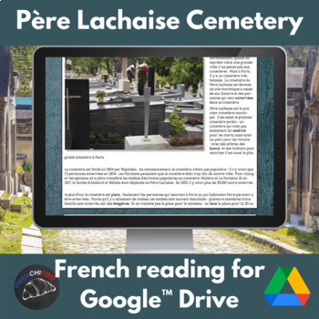 Pere Lachaise - reading for int/adv French - Google Drive