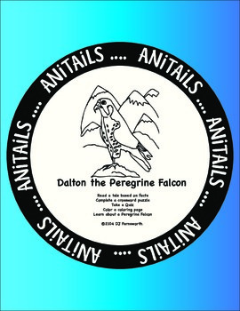 ANiTAiLS:Peregrine Falcon Story, Crossword, Coloring Page and More