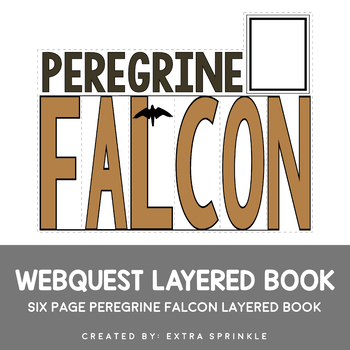 Peregrine Falcon Webquest Layered Book