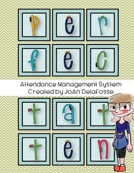 Perfect Attendance Classroom Management System Incentive
