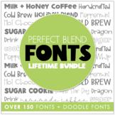 Perfect Blend Fonts: Bundle