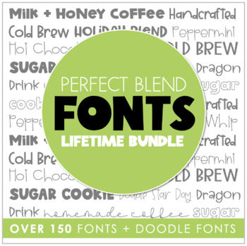 Perfect Blend Fonts: Bundle