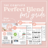 Perfect Blend Fonts: Complete Font Guide