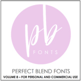 Perfect Blend Fonts: Volume Eight