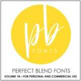 Perfect Blend Fonts: Volume Eighteen